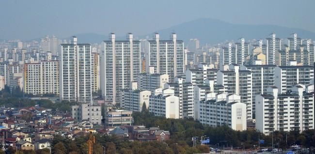 고양시 일산동구 아파트 단지 모습. [헤럴드경제DB]