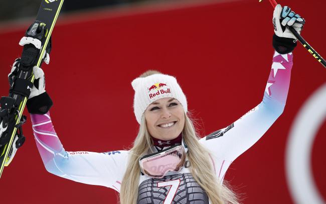 8년 만에 올림픽 메달을 위해 린지 본이 평창올림픽에 출전한다. [사진=연합뉴스]