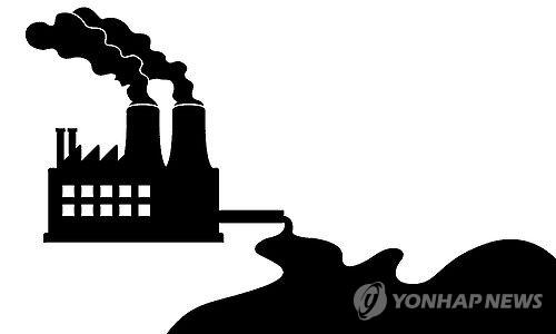 공장폐수(일러스트) 제작 김민준  게티이미지뱅크 그래픽 사용
