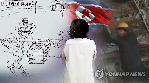탈북여성 '강제수용소' 인권유린 고발(CG) [연합뉴스TV 제공]
