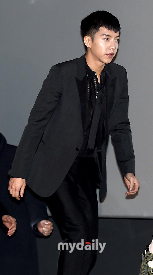 [MD포토] 이승기 '제대 후 영화 복귀작이에요'