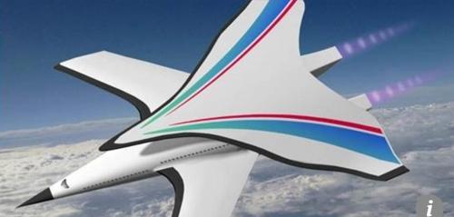 중국이 개발 중인 극초음속 비행기 [SCMP 캡처]