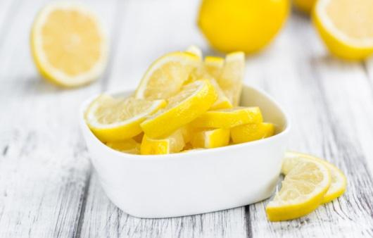 레몬 슬라이스
