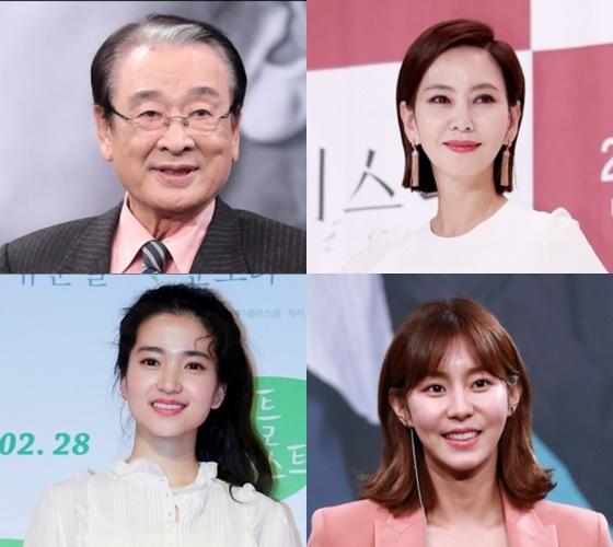이순재, 김남주, 김태리, 유이 / 사진=스타뉴스