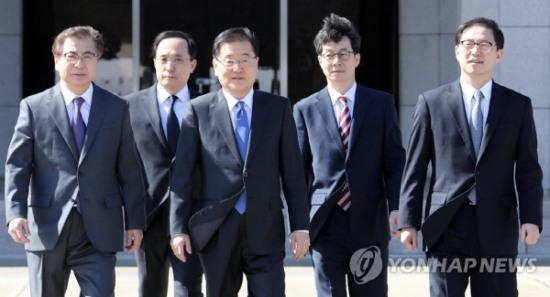 대북특사단 명단(사진=연합뉴스 제공)
