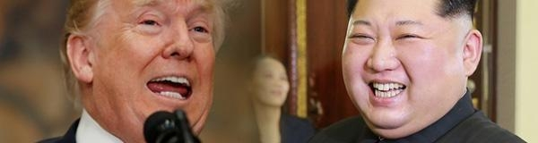 도널드  트럼프 미국 대통령(왼쪽)과 김정은 북한 노동당 위원장 / 조선DB
