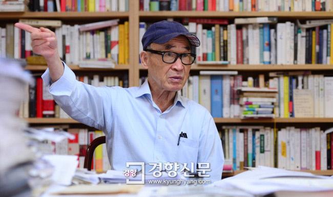 고은 시인/김창길 기자