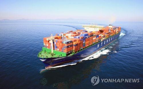 컨테이너선 [연합뉴스 자료사진]