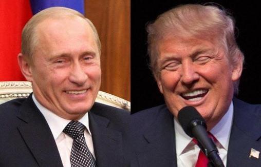 블라디미르 푸틴(왼쪽) 러시아 대통령과 도널드 트럼프(오른쪽) 미국 대통령. /조선DB