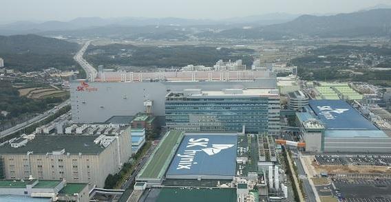 경기도 이천에 있는 SK하이닉스 공장./주완중 기자
