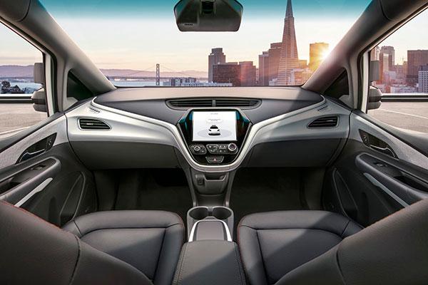 ⓒ한국GM 제공 GM이 공개한 크루즈 AV에는 운전대와 가속페달이 없다.