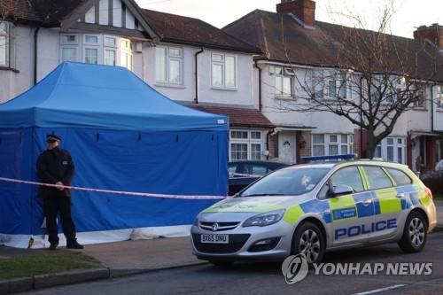 니콜라이 그루쉬코프가 숨진 채 발견된 런던 뉴몰든의 한 주택  [AFP=연합뉴스]