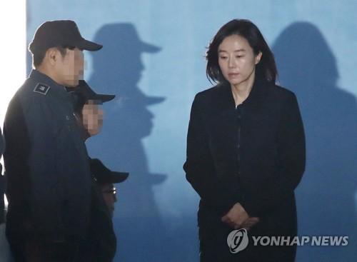 조윤선, 다시 구치소로 [연합뉴스 자료사진]