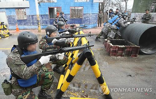 예비군 훈련 [연합뉴스 자료사진]