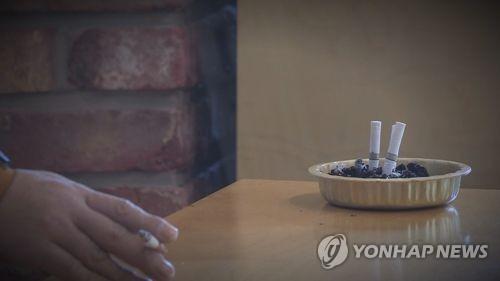 흡연  [연합뉴스TV 제공]