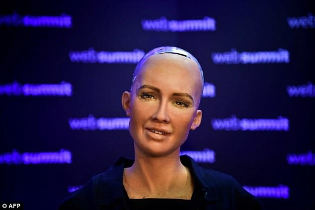 인공지능(AI)로봇 소피아 (사진=AFP·연합뉴스)