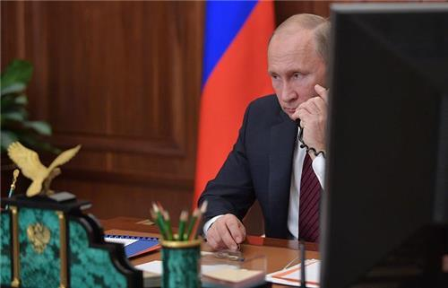 블라디미르 푸틴 대통령 [타스=연합뉴스]