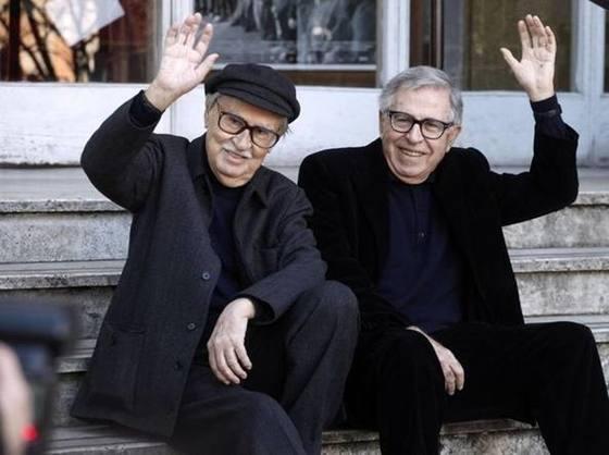 비토리오 타비아니 감독(왼쪽)과 파울로 타비아니 감독(오른쪽).