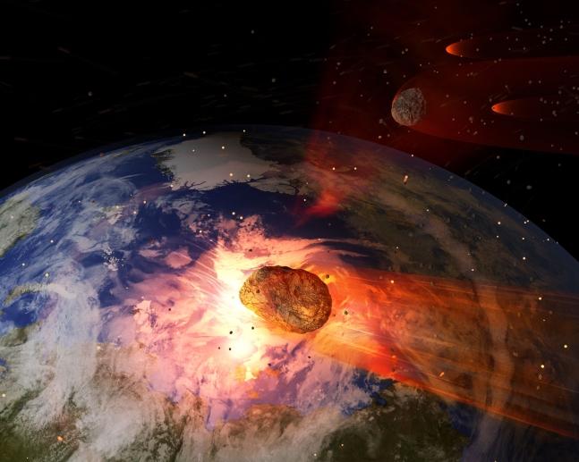 [아하! 우주] 중형 소행성, 발견 몇 시간 만에 가까스로 지구 스쳤다