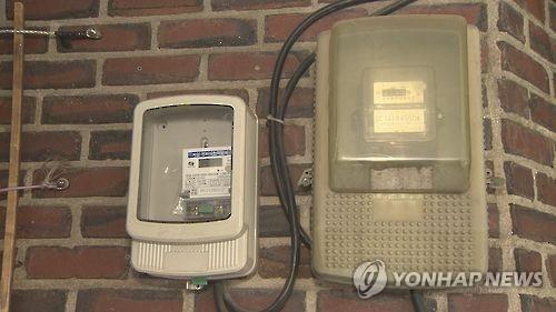 전력량계 계량기 [연합뉴스TV 제공]