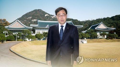 김기식 사의 표명 관련 사표 수리 예정 (CG)  [연합뉴스TV 제공]