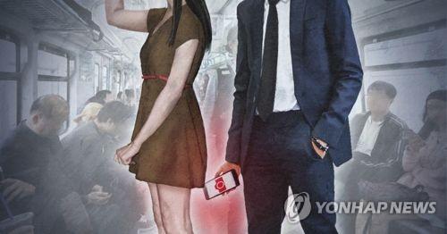 지하철 몰카 [연합뉴스 자료 이미지] 기사 내용과 직접 관련 없음