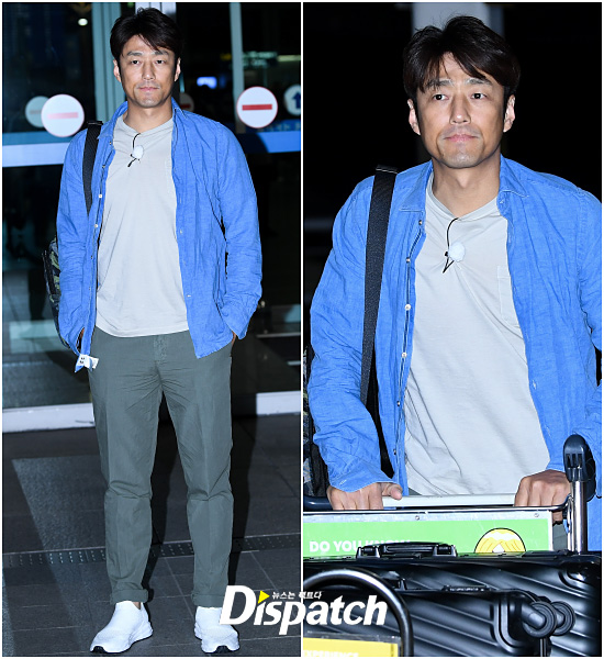 Actor Ji Jin-hee departed Oman via Incheon International Airport on the 18th afternoon to film the entertainment program Where is there.Ji Jin-hee boasted a bright visual even in the dark.I completed a simple fashion with shirt and slacks.