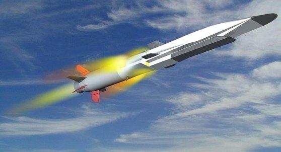 러시아 극초음속 순항미사일 지르콘. [유튜브 캡처]