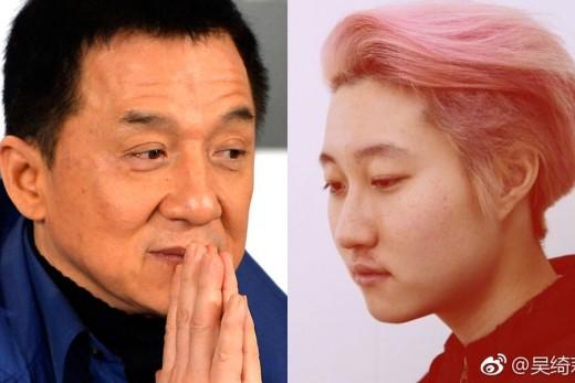 """[룩@차이나] """"연락두절"""" 커밍아웃한 성룡 딸, 실종설 확산"""
