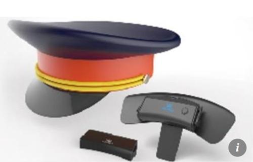 뇌 감시 센서가 부착된 모자 홍콩 사우스차이나모닝포스트(SCMP) 캡처