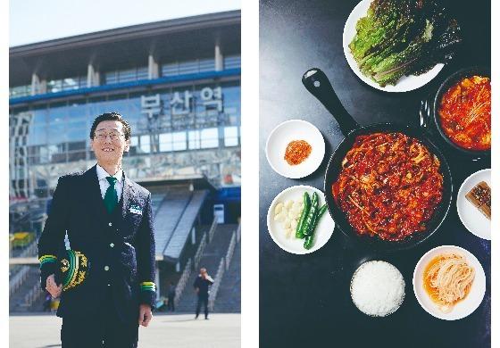 초량원조불백은 부산역 박진성 역장이 부산역 인근에서 추천하는 맛집이다. 24시간 운영한다.