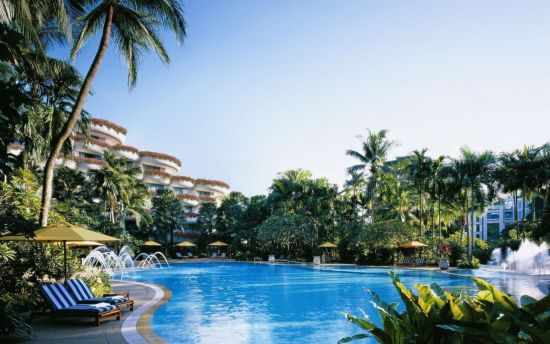 북미정상회담 유력 후보지 중 하나로 손꼽히는 싱가포르 샹그릴라 호텔 모습. 2015년 중국과 대만 정상회담도 이곳에서 열렸다. (사진=싱가포르 샹그릴라 호텔 홈페이지/http://shangri-la.singaporehotels365.com)