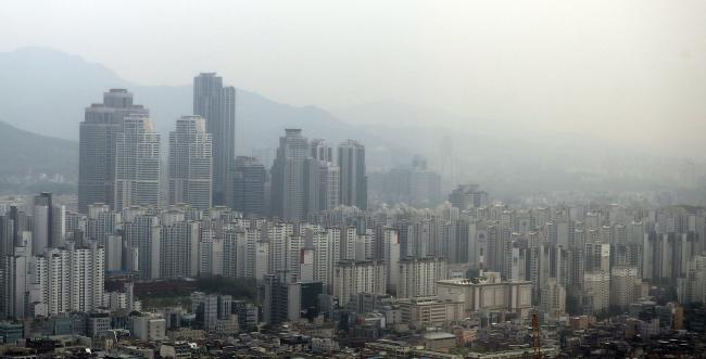 강남 아파트 단지 모습. [사진제공=연합뉴스]