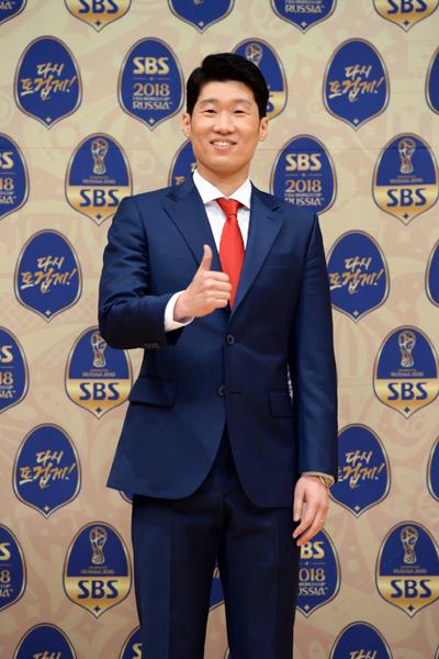 2018 러시아월드컵 SBS 해설위원으로 나서는 박지성이 16일 서울 목동 SBS에서 기자간담회를 갖고 대표팀을 바라보는 자신의 시각과 대회 전망, 해설을 맡게 된 배경 등을 소개했다. 사진제공|SBS