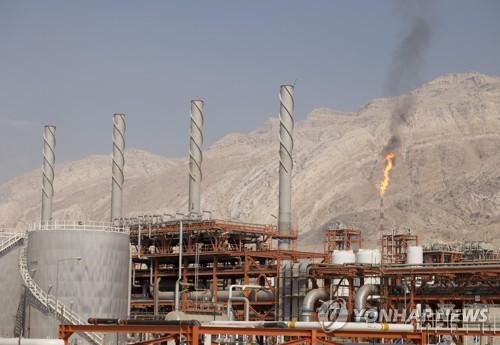 이란의 사우스 파르스 가스전 [로이터/TIMA=연합뉴스 자료사진]