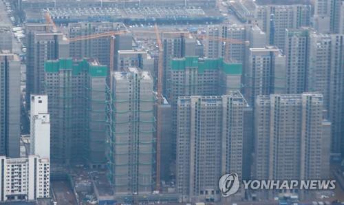 서울 송파 헬리오시티(구 가락시영) 아파트 건설현장 모습 [연합뉴스 자료사진]