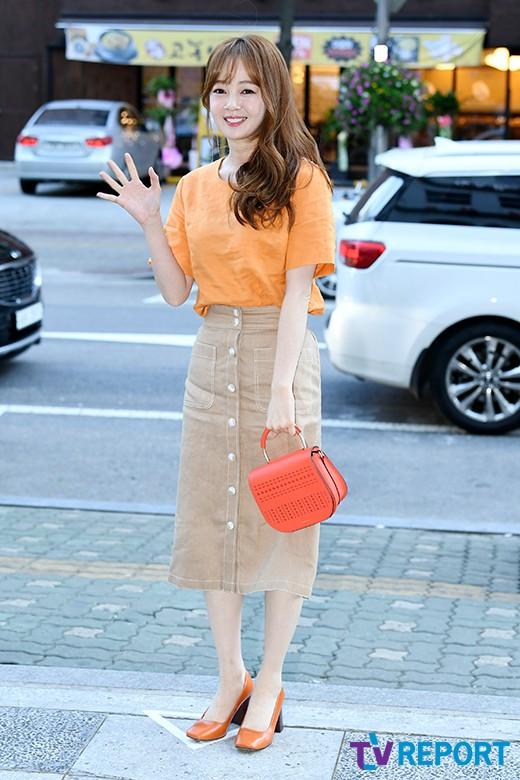 bo mi kim cute orange girl