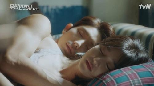 Lawless Lawyer Lee Joon Gi Seo Ye Ji Past Wound Sharing Kiss Bedtime