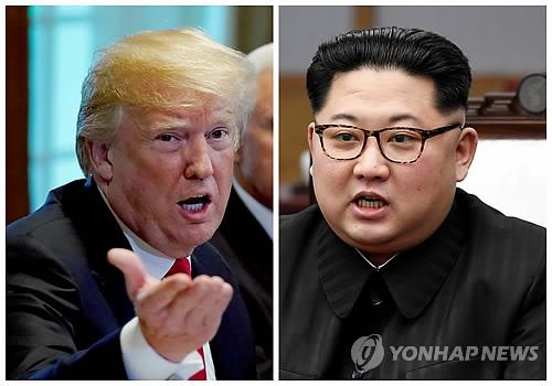 트럼프 대통령과 김정은 국무위원장 [로이터 연합뉴스 자료사진]