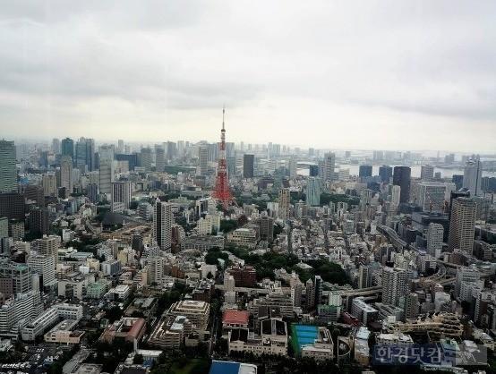 셰어하우스 회사 '골든게인'의 사무실이 있던 도쿄 미나토구 전경. 사진=한경DB
