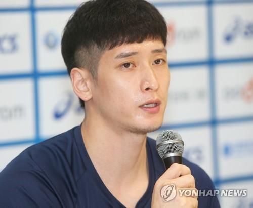 남자배구 대표팀 문성민[연합뉴스 자료사진]