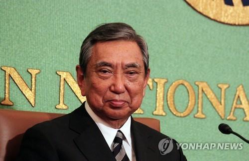 고노 요헤이 전 일본 관방장관[연합뉴스 자료사진]