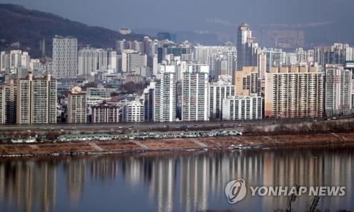 서울 시내 아파트 단지 모습 [연합뉴스 자료사진]