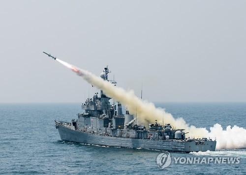 해군 마산함  [해군 제공=연합뉴스 자료사진] 사진은 기사 내용과 직접적인 관련 없습니다.