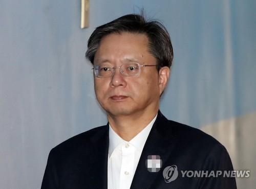 우병우 전 청와대 민정수석. [연합뉴스 자료사진]
