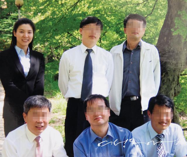 대전지검 홍성지청의 초보 검사 시절.