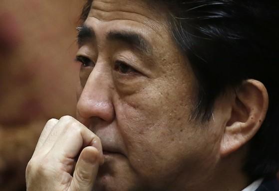 아베 신조 일본 총리.[중앙포토]