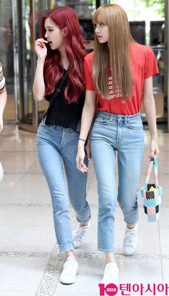 Black Pink Rosette Lisa Bonet Blue Jeans Like A Different Feeling
