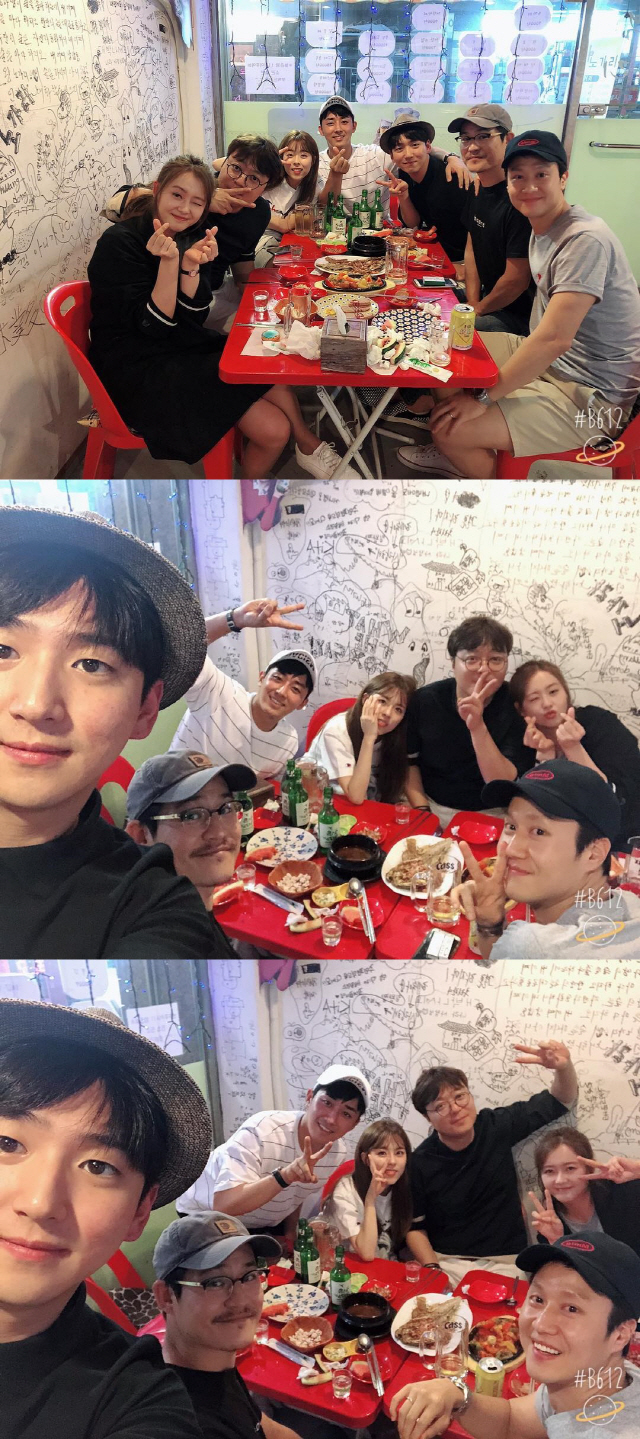 <p>Go Ah-ra posted a photo along with his phrase The last night of happiness ~ The reflection is love ~ on the afternoon of 26th afternoon.</p><p>Go Ah - ra, Director Shinwonho, Dohee, Song Jo Jun, Right, Kim Sung - kyun, John Woo were put in the released pictures. Despite having finished broadcasting in December 2013, friendship is still maintained. These figures bring forth warmth.</p><p>Meanwhile, Go Ah - ra is performing in the role of a spurter in JTBC Miss Hammurabi.</p>