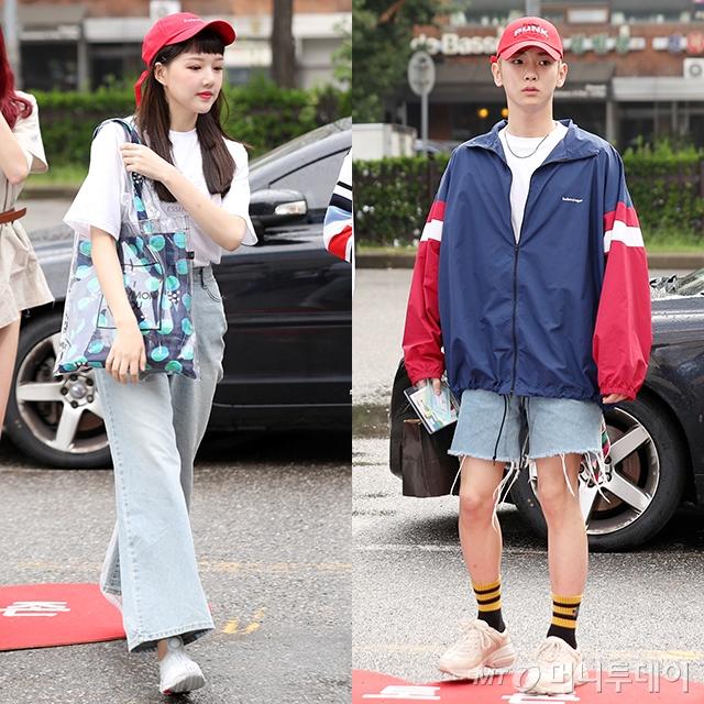 그룹 여자친구 예린(왼쪽)과 그룹 샤이니 키 /사진=머니투데이DB